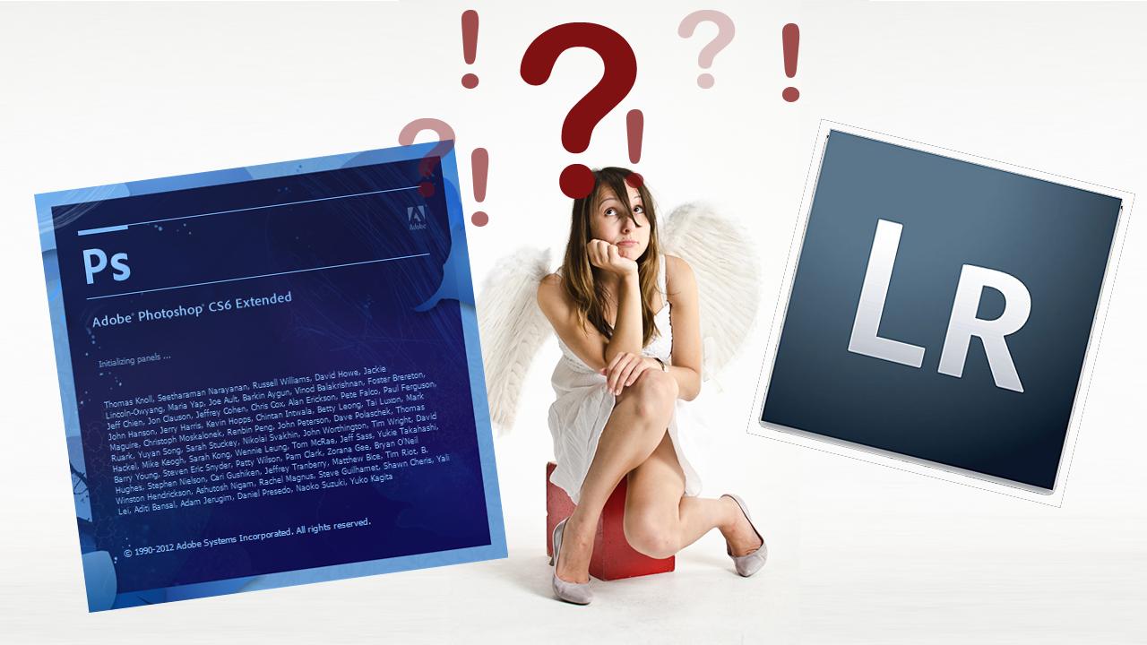 Lightroom oder Photoshop, welches Programm ist das richtige für mich?